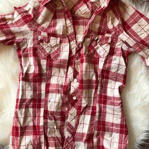 Tops - Button up flannel